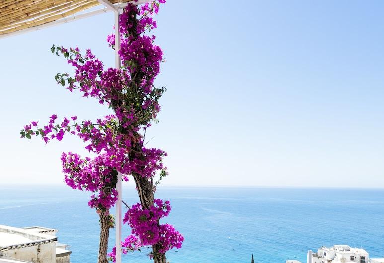 La Bizantina, Поситано, Трехместный номер «Джуниор», терраса, вид на море, Номер