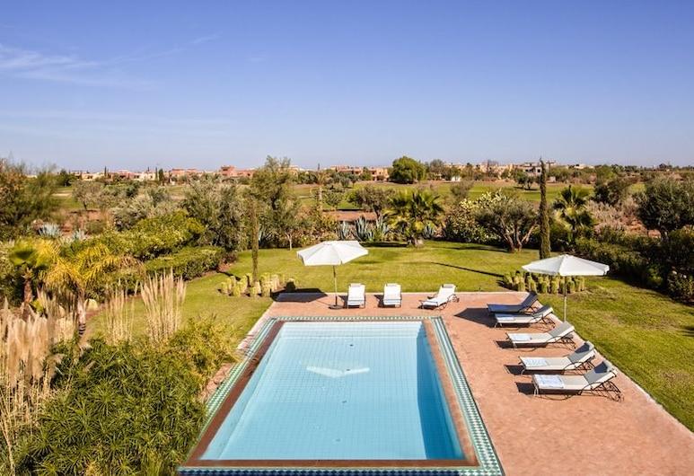 Villa avec piscine privée et Golf, Тамеслухт, Відкритий басейн