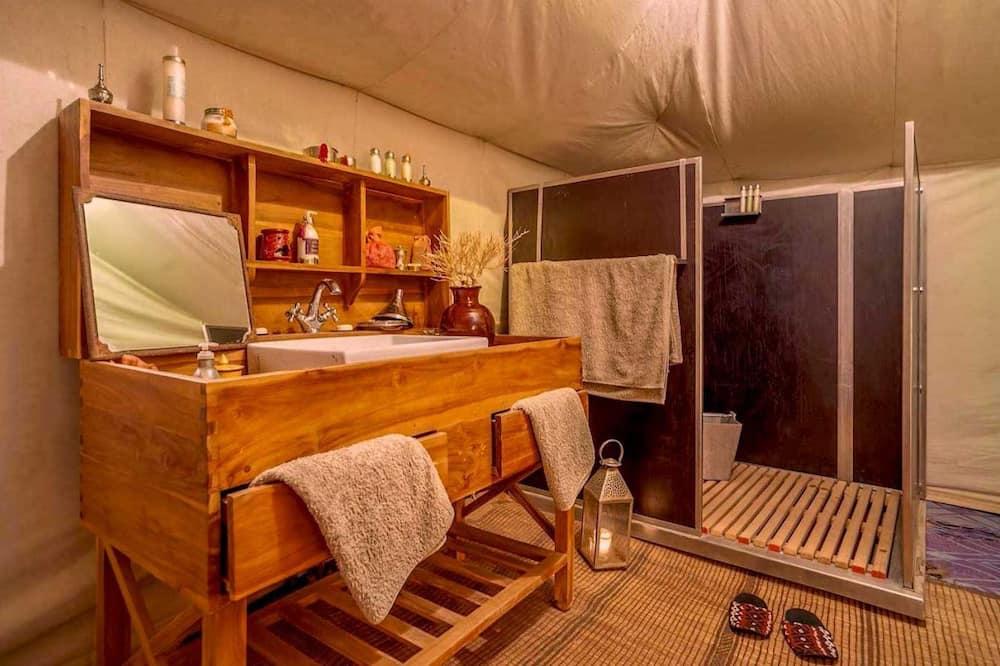 Deluxe-telt - privat badeværelse - Badeværelse