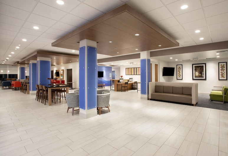 Holiday Inn Express and Suites Dakota Dunes, Sioux City Norte, Lobby