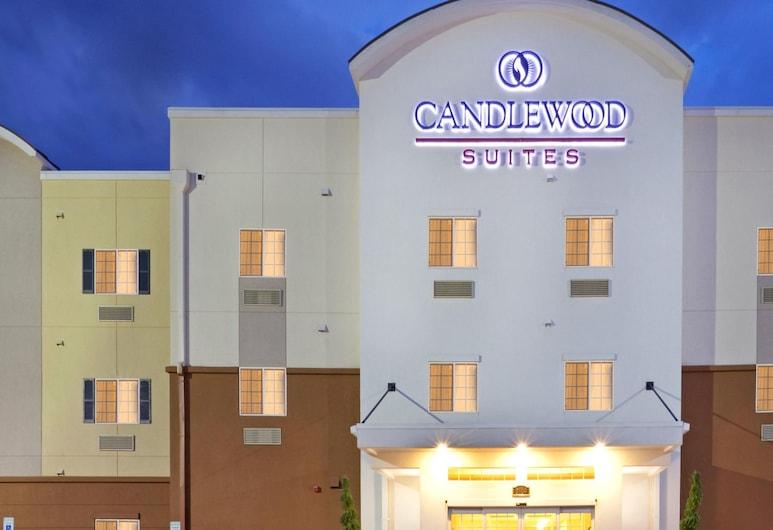 Candlewood Suites Houston North I45, an IHG Hotel, Houston, Hotel Front – Evening/Night
