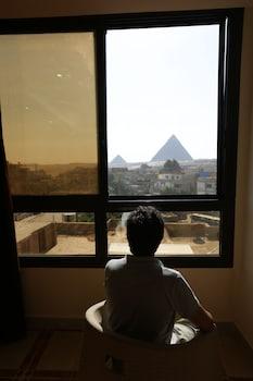 Giza bölgesindeki Happy days pyramids inn resmi