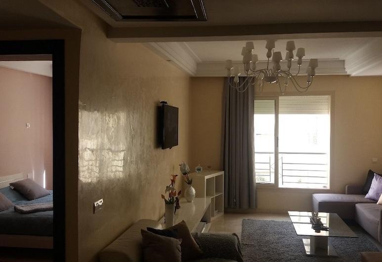 Sweet Home Casablanca, Касабланка, Апартаменты, 2 спальни, Зона гостиной