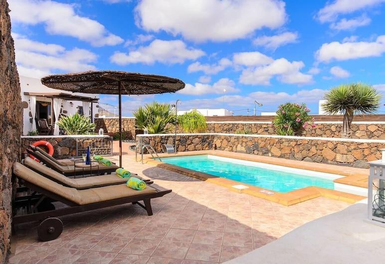 卡瑟里奧吉米酒店, San Bartolome, 室外泳池