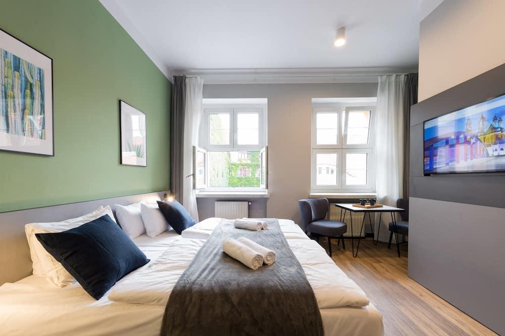 Superior-Studiosuite, 1 Schlafzimmer, Kochnische, Stadtblick - Zimmer