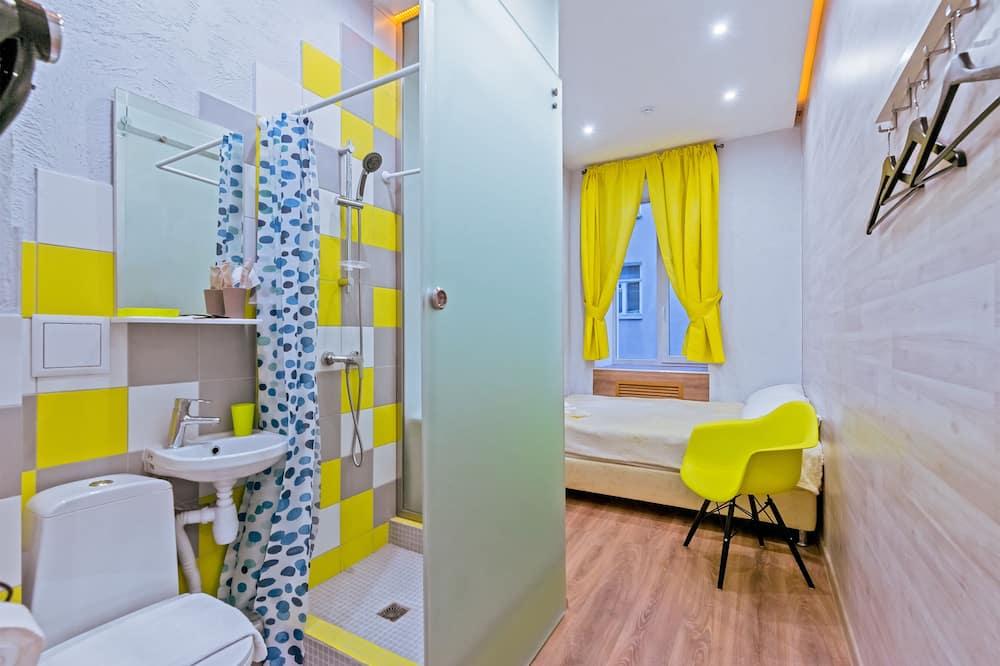 Standardní pokoj s dvojlůžkem, dvojlůžko (180 cm) - Koupelna