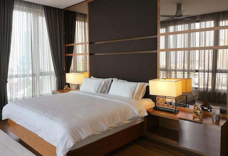 The Landmark Penthouse Luxury Condo by Casa Accommodation, George Town, Luxury stuudio, erivajadustele kohandatud, vaade merele, Tuba