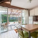 Dvojposchodový apartmán typu Classic, 1 spálňa, s výhľadom do záhrady - Obývacie priestory
