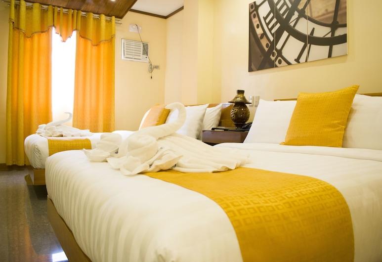 Royal Mansion Hotel, Kota Tabaco, Kamar Double Deluks, Kamar Tamu