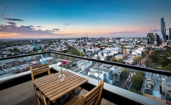 Fotografia do Spencer Street Apartments em Melbourne