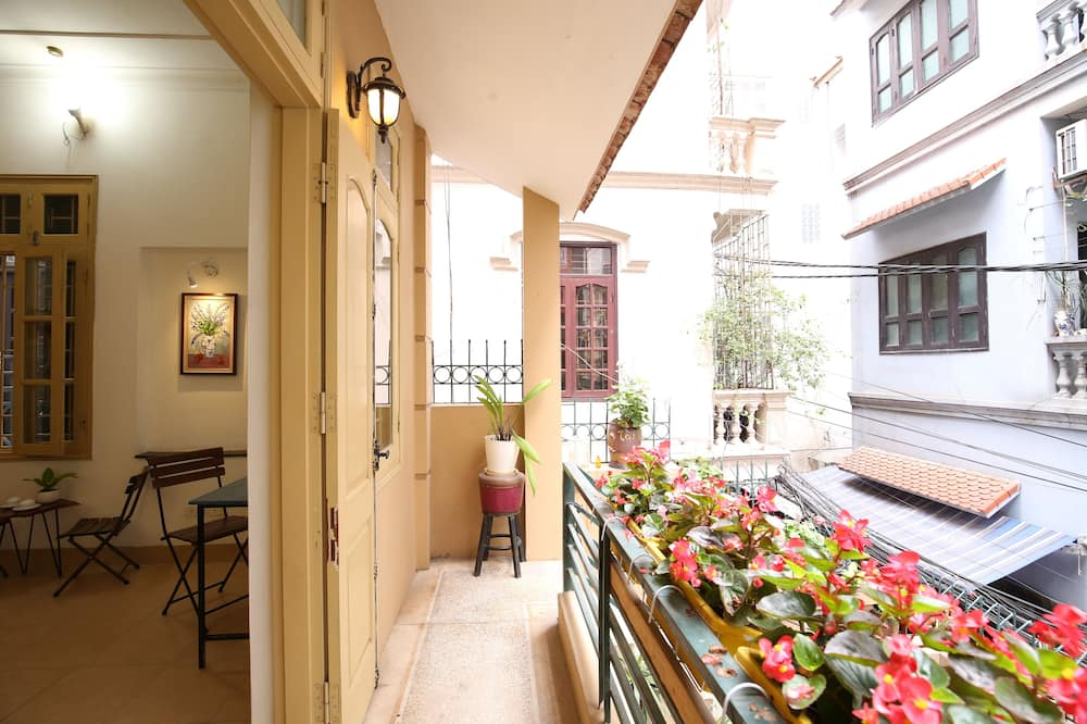 Basic-Studio, 1King-Bett, Seeseite - Balkon