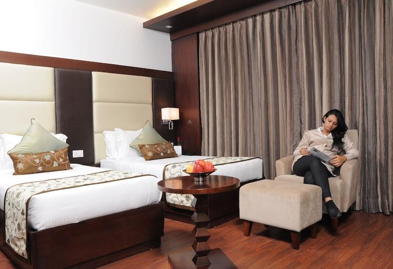 The Grand Vikalp, New Delhi, Deluxe Room, 1 Bedroom, Guest Room