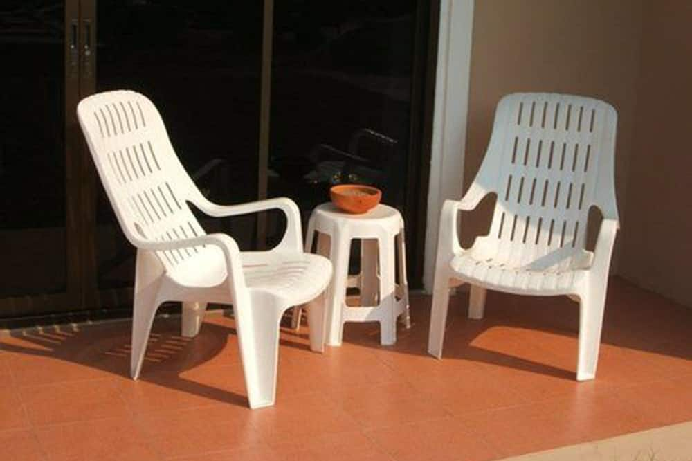 Double Studio with Garden View - Balkon