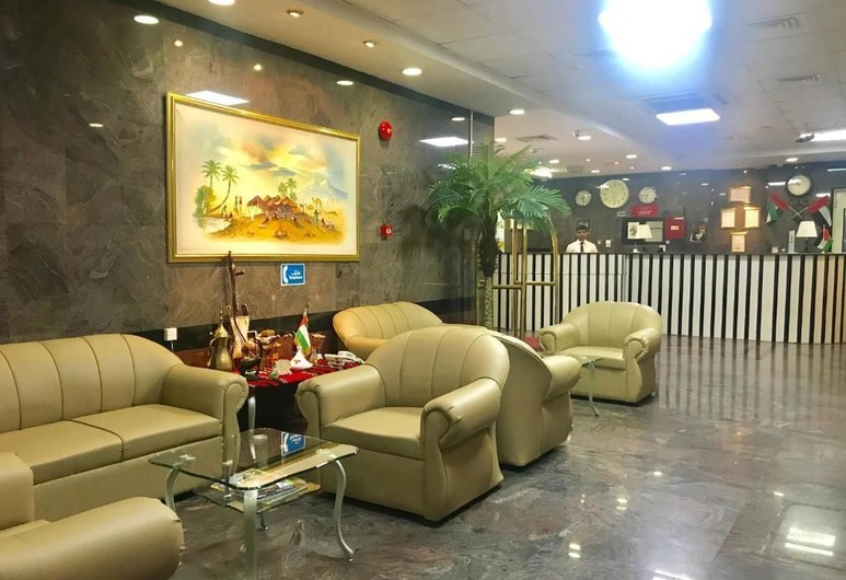 Sky Hotel Apartments, Dubai, Lobby Sitting Area