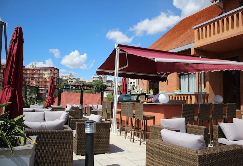 Havana Resort, Antananarivo, Terrasse/Patio