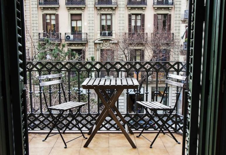 Art City Hostel Barcelona - Adults only, Barcelona, Tvåbäddsrum - terrass (Shared Bathroom), Balkong