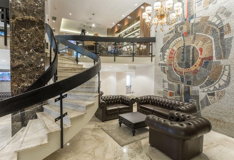 Hotel Royal Inn, Belgrad, Sitzecke in der Lobby