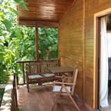 Studio, keuken, uitzicht op tuin - Balkon