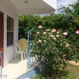 Comfort tweepersoonskamer, Balkon, uitzicht op tuin - Balkon