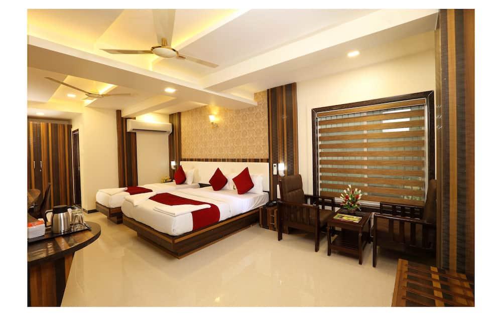 Habitación triple Deluxe, 1 habitación, baño privado - Habitación