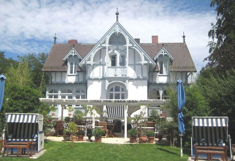 巴爾勒本姆希別墅飯店, Konstanz, 飯店正面