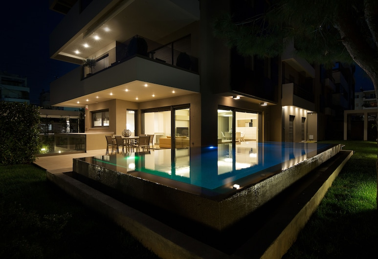 Elaia Luxury Apartments Glyfada, Glyfada, Mặt tiền/ngoại thất
