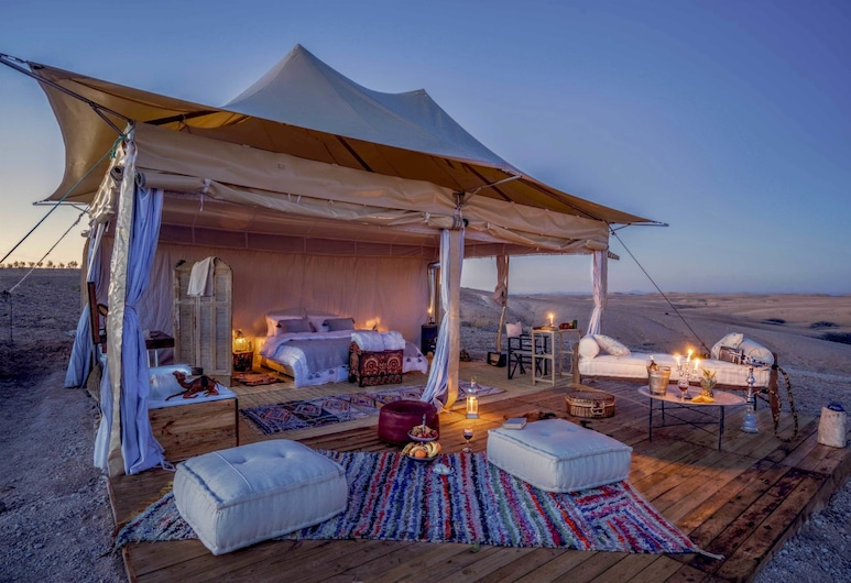 Agafay Desert Luxury Camp, Агафе, Палатка «люкс», Номер