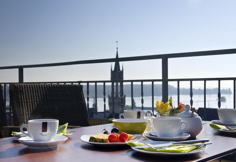 Hotel Viva Sky, Konstanz, Útiveitingasvæði