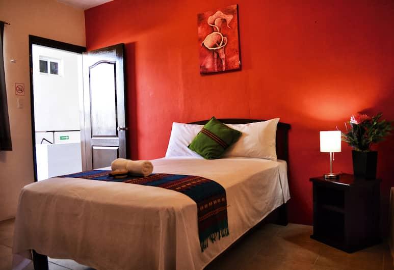Balamku Hotel Cafe, Campeche, Habitación individual, 1 cama matrimonial, Habitación