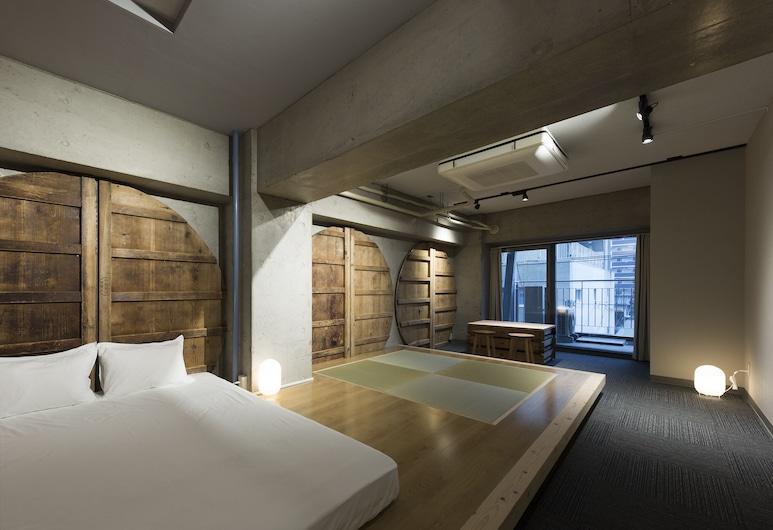 Common de - Hostel & Bar -, 福岡市, ファミリー 4 人部屋, 部屋