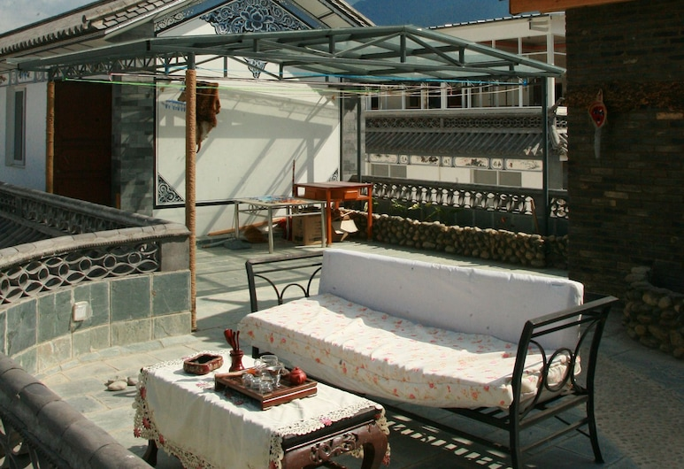 DALI Jade house, Dali, Taras/patio