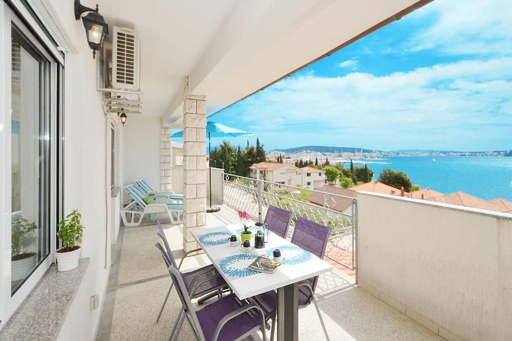 Family Suite, 2 Bedrooms, Balcony, Sea View - Balcony