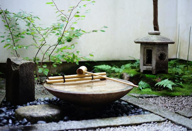 쿄 아카리 인, Kyoto, 정원