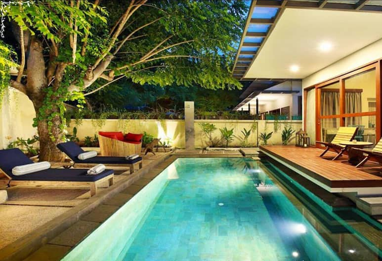 波特別墅酒店, 吉利群島, 別墅, 1 間臥室, 私人泳池, 客房