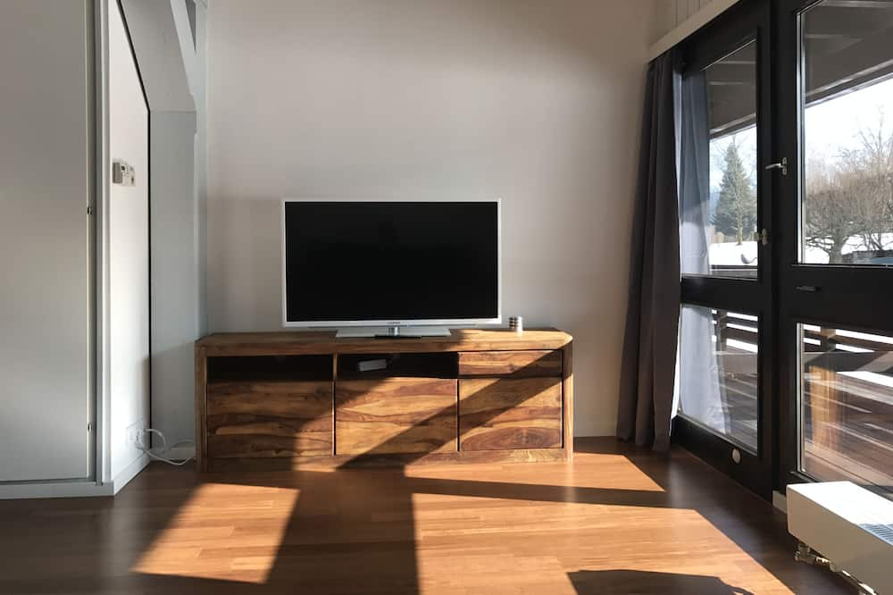 時尚公寓, 廚房 - 客廳