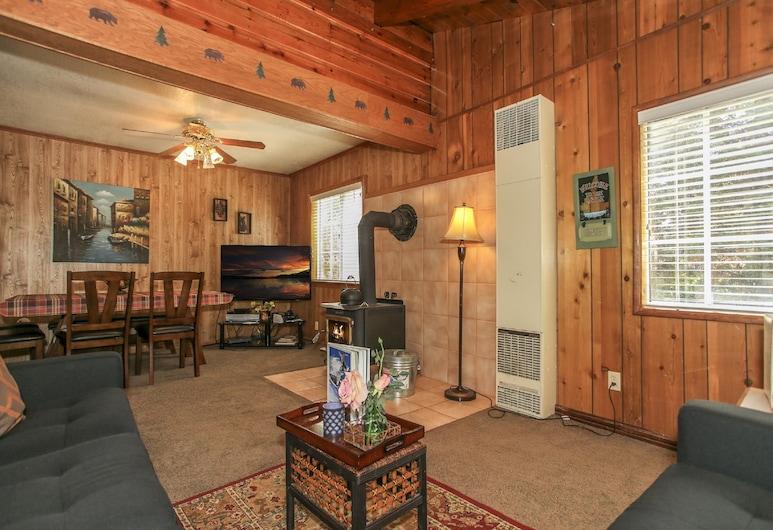 蘋果鳳梨酒店, 大熊湖, 標準單棟房屋, 非吸煙房, 廚房, 客廳