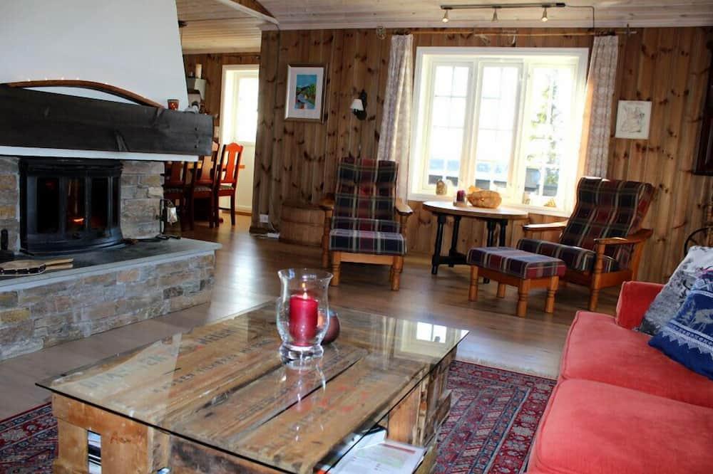 Ferienhütte, 4Schlafzimmer - Wohnzimmer
