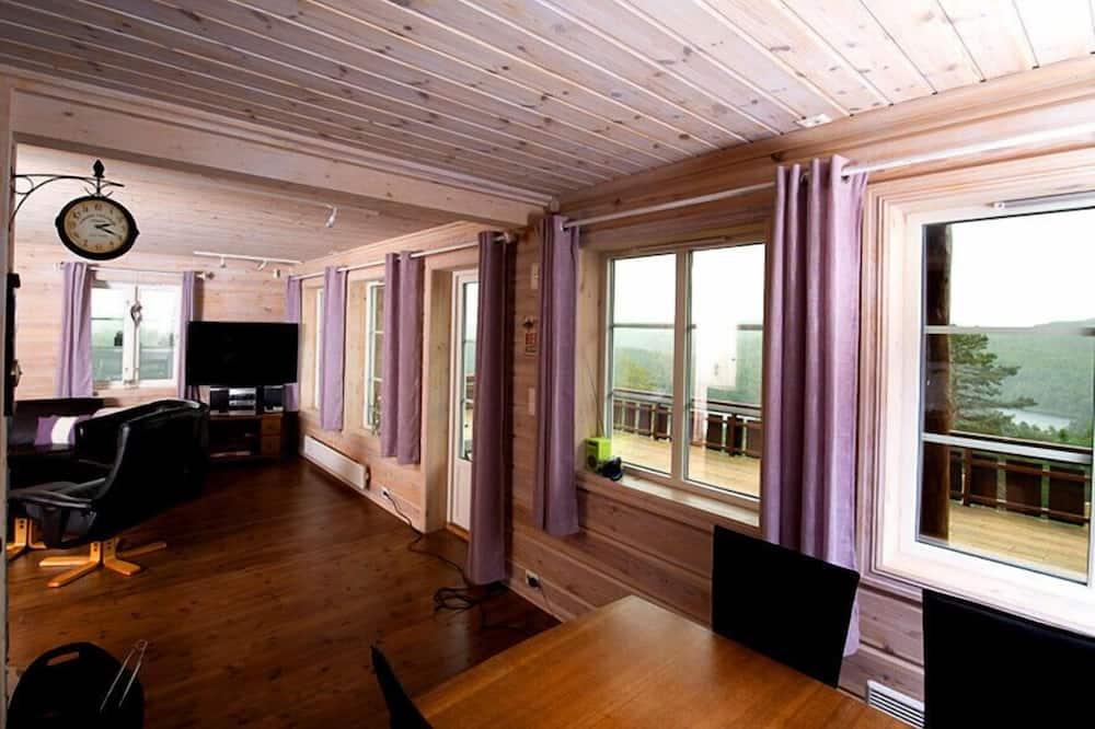 Lomamaja, 4 makuuhuonetta - Oleskelualue