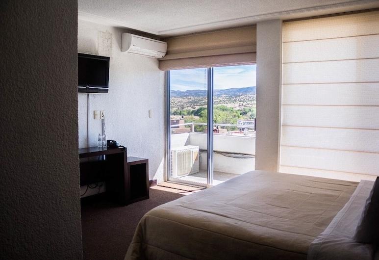 HOTEL SIERRA REAL, Santiago Papasquiaro, Camera singola, 1 letto matrimoniale, Camera