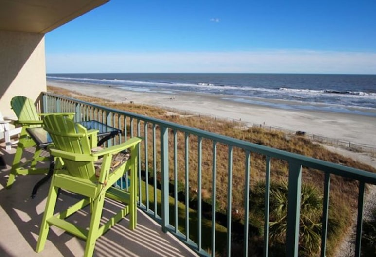 Beach Club III by Elliott Beach Rentals, North Myrtle Beach, Condo, 3 Bedrooms, Oceanfront, View from room