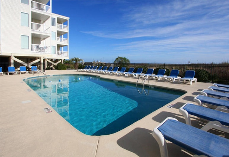 Ocean Pier IV by Elliott Beach Rentals, North Myrtle Beach, Buitenkant