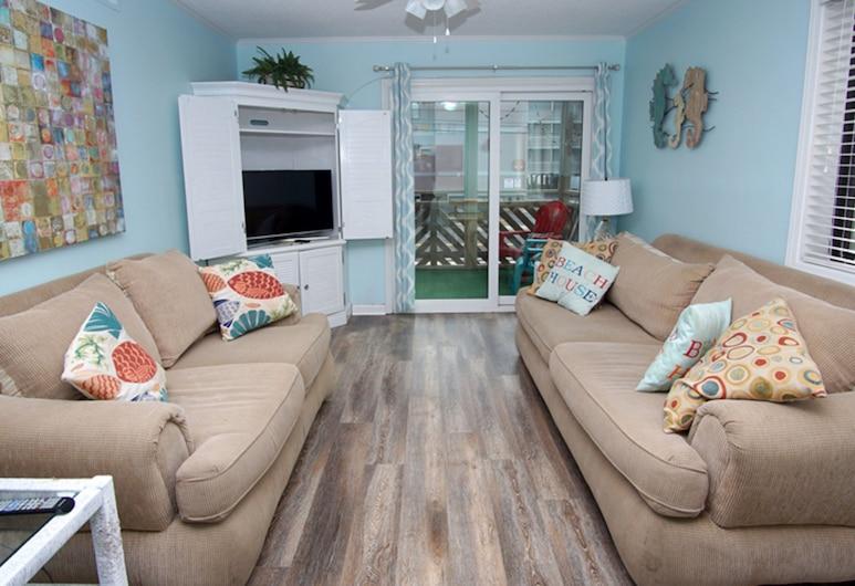 Waipani by Elliott Beach Rentals, North Myrtle Beach, Condo, 2 Bedrooms, Living Room