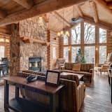Mägimaja, 6 magamistoaga, mullivanniga - Lõõgastumisala