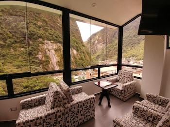 Foto Golden Sunrise Machupicchu di Machu Picchu