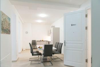 Wiedeń — zdjęcie hotelu Edelweiss City Apartments SCHÖNBRUNN