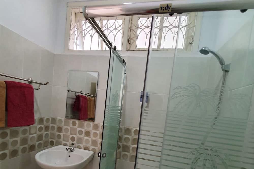高級雙人房, 1 張加大雙人床, 花園景觀 - 浴室