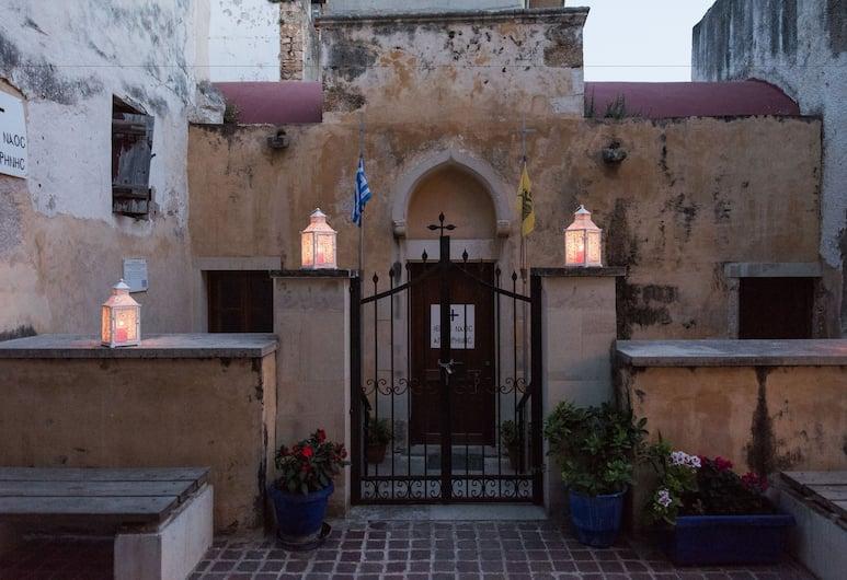 Harismari Cozy Hotel, Chania, Hotel Front
