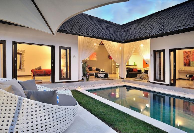 Villa Capri, Seminyak, Vila econômica, 4 quartos, Terraço/pátio