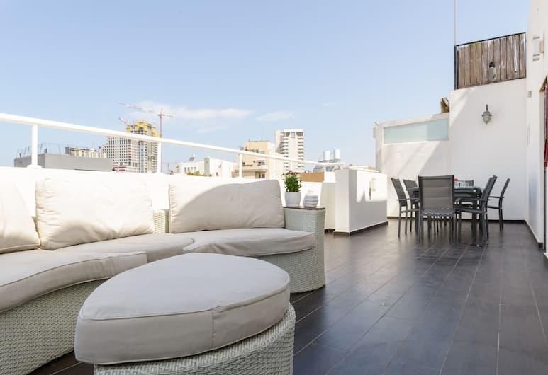 頂層房複合式 3 露台酒店 - 附泊車位, 特拉維夫, 陽台