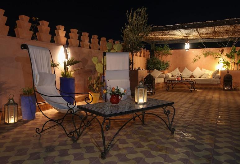 里亞德希艾瑪拉酒店, 馬拉喀什, 家庭客房, 共用浴室, 陽台
